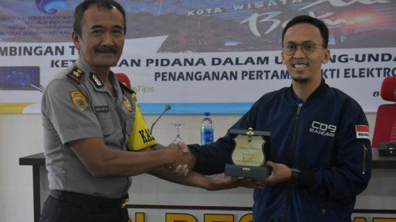 Penutupan Bimbingan Teknis Ketentuan Pidana Dalam UU ITE di Polres Batu