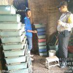 Kegiatan Sambang Bhabinkamtibmas Kelurahan Songgokerto Polsek Batu KotaPolres Batu