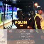 Polsek Kasembon Polres Batu Giatin Patroli Malam Jaga Kamtibmas