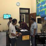 Melaksanakan Giat Pengamanan Mako, Anggota Polres Batu Tingkatkan Kontrol Tahanan