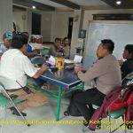 Kegiatan Silaturahmi Warga Masyarakat Bhabinkamtibmas Kelurahan Sisir Polsek Batu Kota Polres Batudalam rangka dinginkan suasana pasca pemilu