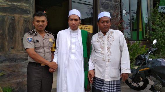 Giat DDS dan Tatap Muka, Bhabinkamtibmas Polsek Junrejo Polres Batu Sambang Pimpinan Majelis Taklim Riyyadul Jannah