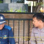 Meningkatkan Pam Swakarsa Anggota Bhabinkamtibmas Kelurahan Temas Polsek Batu Kota Polres Batu Sambang Satpam Batu Wonderland