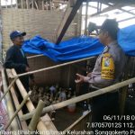 Kegiatan Tatap Muka dan DDS, Sambang Desa Kunjungan Potensi Ternak Itik Bhabinkamtibmas Kelurahan Songgokerto Polsek Batu Kota Polres Batu