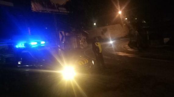 Menjaga Wilayah, Polsek Batu Polres Batu Melaksanakan Giat Patroli Malam Jaga Kamtibmas