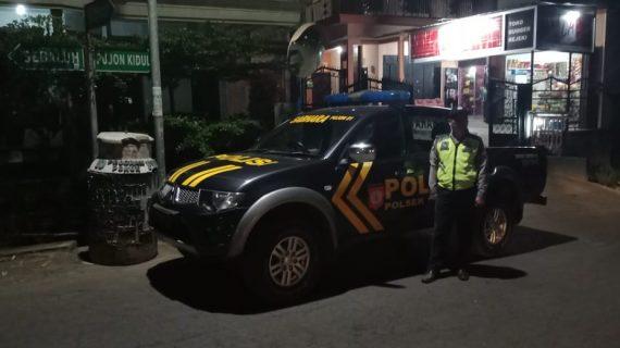Polsek Junrejo Polres Batu Tingkatkan Patroli Malam Hari