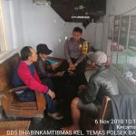 Anggota Bhabinkamtibmas DDS Silaturahmi, Door To Door System Warga Masyarakat Bhabinkamtibmas Polsek Batu Kota Polres Batu Titipkan Pesan Kamtibmas