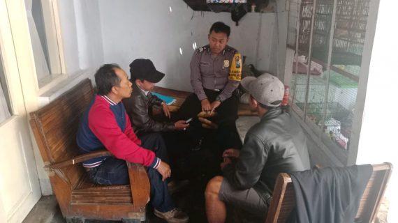 Kegiatan Silaturahmi dan DDS, Door To Door System Warga Masyarakat Bhabinkamtibmas Polsek Batu Kota Polres Batu Titipkan Pesan Kamtibmas