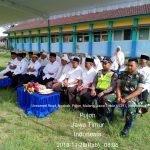 Bhabinkamtibmas Bripka Sugeng Widodo Polsek Pujon Polres Batu (3 Pilar) Menghadiri Giat Manasik Haji Di Desa Ngabab