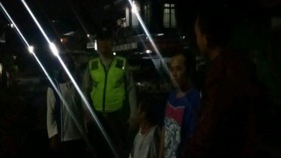 Polsek Pujon Polres Batu Giatkan Patroli Malam Jaga Kamtibmas Agar Wilayah Kondusif