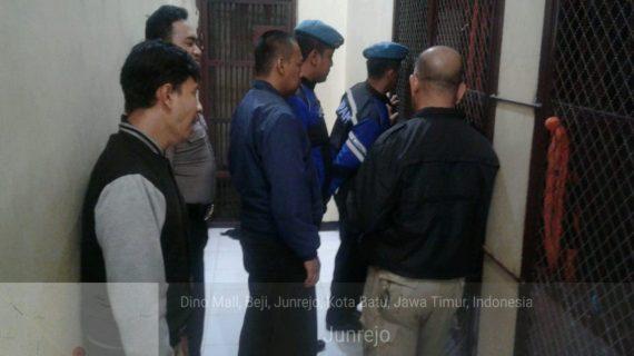 Giat Pengamanan Mako, Polres Batu Tingkatkan Kontrol Tahanan