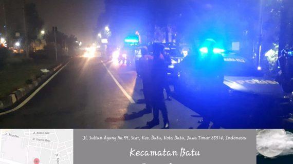 Tingkatkan Keamanan, Polsek Batu Polres Batu Giatkan Patroli Malam