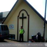 Tingkatkan Keamanan Tempat Ibadah, Polsek Batu Polres Batu Laksanakan Pengamanan Lokasi