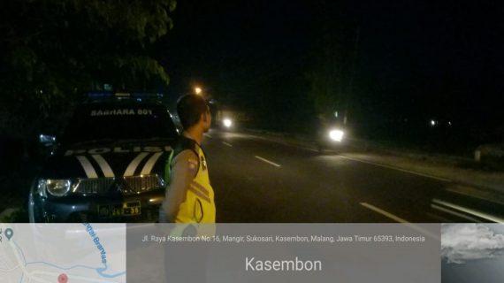 Polsek Kasembon Polres Batu Tingkatkan Patroli Malam Hari