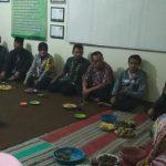 Anggota Bhabinkamtibmas Desa Pesanggrahan Polsek Batu Kota Polres Batu Menghadiri Silaturahmi Kamtibmas Warga