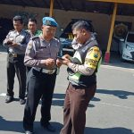 kapolsek Pujon Sampaikan Arahan Pimpinan kapolres batu Kepada Anggota Polsek Pujon