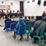Kanit Reskrim Polsek Junrejo Hadiri Sosialisasi Pemilihan Kepala Desa Mojorejo.