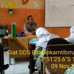 Kegiatan Door To Door System bersama Bhabinkamtibmas Desa Bumiaji Polsek Bumiaji Polres Batu