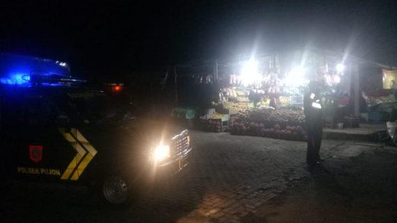 Polsek Junrejo Polres Batu Tingkatkan Patroli Malam di Wilayah