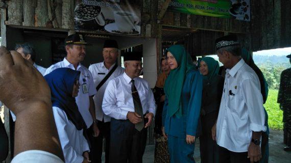 Anggota Polsek Pujon Polres Batu Menghadiri Peresmian Embung di Desa Tawangsari Oleh Wakil Bupati Malang