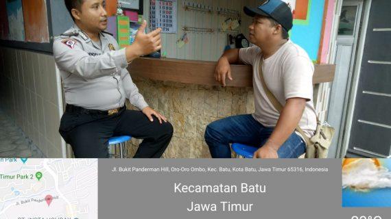 Giat Sambang Pemilik Home Stay Bhabinkamtibmas Desa Oro Oro Ombo Polsek Batu Kota