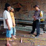 Sambang Bengkel Las Bhabinkamtibmas Polsek Batu Polres Batu Sampaikan Pesan Kamtibmas
