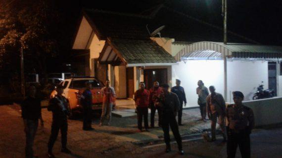 Tingkatkan Pengamanan Dalam Mako, Polres Batu Patroli Mako
