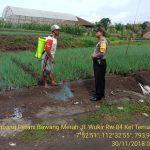 Sambang Petani Bawang Merah Bhabinkamtibmas Kelurahan Temas Polsek Batu Kota Polres Batu