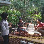 Silaturahmi Kerukunan Warga Bhabin Desa Pesanggrahan Polsek Batu Kota Polres Batu