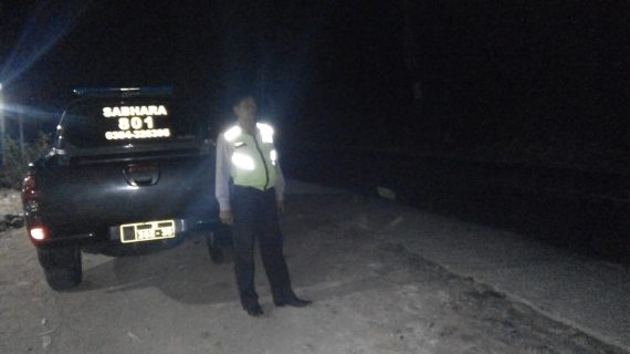 Polsek Ngantang Polres Batu Giatkan Patroli Malam Jaga Kamtibmas
