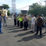 Kegiatan apel pagi di Polsek Batu, Kanit Reskrim berikan penekanan kepada anggota