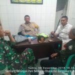 Sambang Kelompok Pam Swakarsa Oleh Anggota Bhabin Kel Songgokerto Polsek Batu Kota Polres Batu