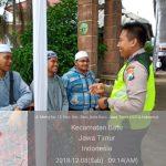 Sambang Pesantren dan Pengamanan Khitanan Masal di Ponpes Anwarut Taufiq Oleh Anggota Bhabin Polsek Batu Kota Polres Batu