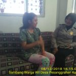 Silaturahmi Warga Perumahan Binaan Oleh Bhabinkamtibmas Desa Pesanggrahan Polsek Batu Kota Polres Batu