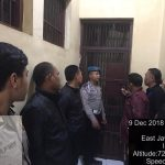 Sebagai Salah Satu Giat Pengamanan Mako, Polres Batu Laksanakan Kontrol Tahanan