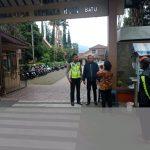 Perlancar Mitra Kerja di Masyarakat Binaannya, Polsek Batu Polres Batu Laksanakan Pengamanan Lokasi