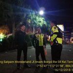 Guna Tingkatkan Pam Swakarsa, Anggota Bhabinkamtibmas Polsek Batu Kota Polres batu Sambang Satpam Binaan