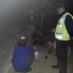 Jaga Situasi Malam Hari, Polsek Pujon Polres Batu Tingkatkan Patroli Malam
