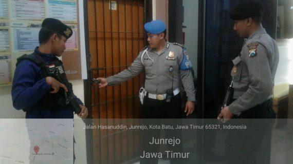 Kegiatan Rutin Pengamanan Mako, Polres Batu Tingkatkan Kontrol Tahanan
