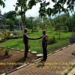 Sambang Penjaga Hutan Kota Temas Oleh Anggota Bhabinkamtibmas Polsek Batu Kota Polres Batu Untuk Sampaikan Pesan Kamtibmas