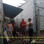 Sambang Pekerja Bangunan Bhabinkamtibmas Kelurahan Temas Polsek Batu Kota Polres Batu Sampaikan Pesan Kamtibmas