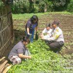 Anggota Bhabin Kelurahan Songgokerto Polsek Batu Kota Polres Batu, Laksanakan Sambang Kerukunan Warga
