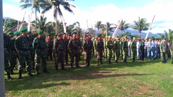 Kanit Sabhara Polsek Ngantang Polres Batu Menghadiri Upacara Serah Terima Pasukan Pleton Beranting Yudha Wastu Pramuka
