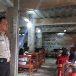 Tingkatkan Keamanan Tempat Ibadah, Polsek Bumiaji Polres Batu Laksanakan Pengamanan Lokasi