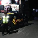 Patroli WIlayah, Polsek Ngantang Polres Batu Giatkan Patroli Wilayah Malam
