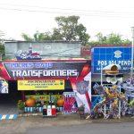 Ops Lilin Semeru 2018, Kapolres Batu Dirikan Pos Pam Transformers Dan Avengers