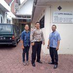 Perlancar Mitra Kerja di Masyarakat Binaannya, Polsek Junrejo Polres Batu Laksanakan Pengamanan Lokasi