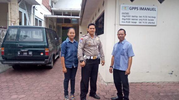 Guna Tingkatkan Keamanan Tempat Ibadah, Polsek Junrejo Polres Batu Laksanakan Pengamanan Lokasi