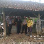 Sambang Kerukunan Warga Oleh Bhabinkamtibmas Kelurahan Songgokerto Polsek Batu Kota Polres Batu Guna Sampaikan Pesan Kamtibmas