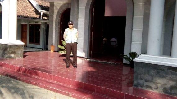 Laksanakan Kegiatan Pengamanan Tempat Ibadah, Polsek Junrejo Polres Batu terjunkan personil